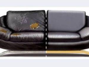 Перетяжка кожаного дивана в Иваново