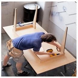Сборка столов по низким ценам в Иваново от специалистов