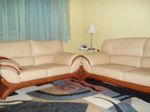Перетяжка кожаной мебели в Иваново